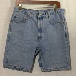 Levi's Light Wash Denim Shorts Men's 34
